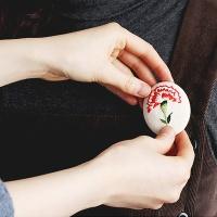 프랑스자수 DIY 카네이션 만들기 - 레드