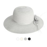 [디꾸보]롱 브림 플라워 햇 썬캡 모자 JAN340