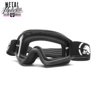 [METAL MULISHA] THE RESOLVE BLACK MATTE GOGGLE
