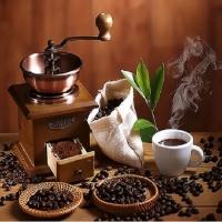 Q3238 커피로스팅 size 40*50cm (물감2배)
