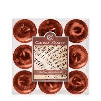 COLONIAL CANDLE 1866 티라이트 9pk 캔들 티벳의 백단향