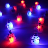 LED점등 눈사람반지(50개한팩)