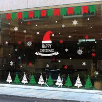 제제데코 크리스마스 눈꽃 스티커 장식 CMS4J214