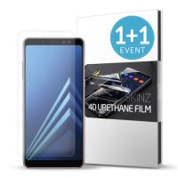 스킨즈 갤럭시 A8(2018) 우레탄 풀커버 액정필름(2장)