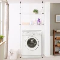 보노 세탁기 선반 2단 (블랙)