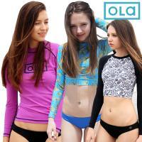 [OLA]올라 여성 래쉬가드 파격 균일가 4종 택1 서핑/수영복/비치웨어/여성래쉬가드