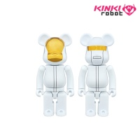 [KINKI ROBOT] 다프트펑크 베어브릭 200% BEARBRICK DAFTPUNK WHITE SUIT VER (1609004)
