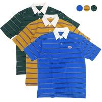 GBB Preppy Striped Polo Shirt(3color)