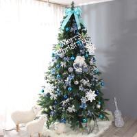 전나무 완성트리 풀세트(블루)