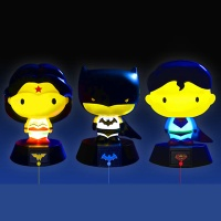 3D DC 코믹스 배트맨 슈퍼맨 원더우먼 램프 3종세트