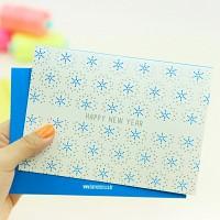 하베스터 크리스마스 카드 - 스노우 투게더
