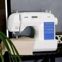 부라더미싱 듀얼LED 전자미싱 ES-2000