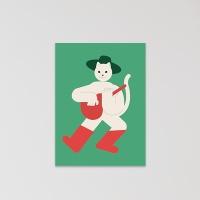 고양이 엽서 (puss in boots)