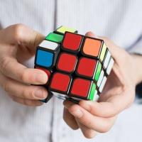 맥킨더 슈퍼 매직큐브 3X3 퍼즐놀이