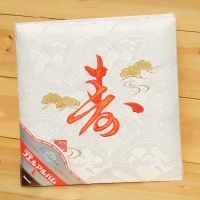 [Nakabayashi] 직물표지+나사식제본 접착앨범..일본 나카바야시 壽和道 Series 자수앨범...壽 HF394-1