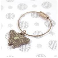 와이어열쇠고리(나비)