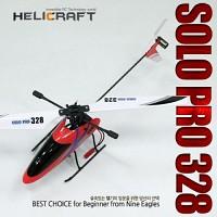 [헬셀] 4채널 RC헬기 솔로프로328 (Solo Pro 328) - Red Yellow