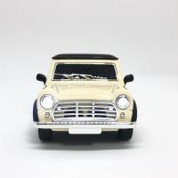 티켄TICKEN LED 미니카 차량용 자동차방향제 BEIGE