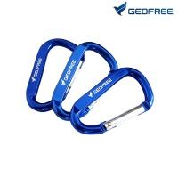 캠핑 카라비너 세트 블루 (10개입) GF1019005BL