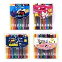 비팬시 초등 12색 16색슬라이더 색연필