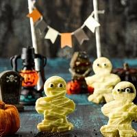 피나포레 할로윈 미이라 유령 쿠키 만들기 - 홈베이킹