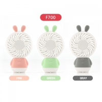 DDZONE 휴대용 미니 선풍기 토끼 F700