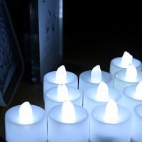 LED 티라이트캔들 24개입(백색)