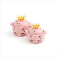 핑크돼지냄비 부부돼지세트 (아빠돼지+엄마돼지)