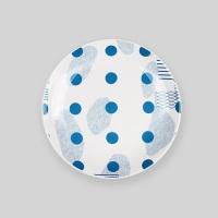 "Ocean blue island 6"" plate"