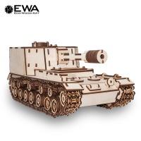 실제와 같은 밀리터리 탱크 OBJ-212 3D우드퍼즐