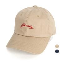 [디꾸보]컬시브 레터링 볼캡 모자 AC453