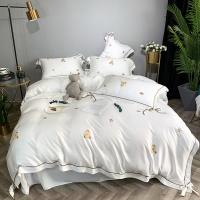 [클라모프] 미니 베어 침대커버 세트
