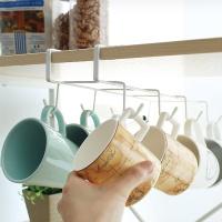 컵걸이 주방 공간활용 머그컵 다용도 컵정리대