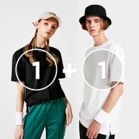 [1+1]루즈핏 올데이트임 반팔 티셔츠 아키클래식