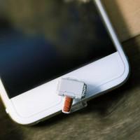 마블 라이트닝캡 토르 아이폰5-6 홈버튼