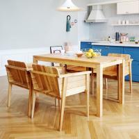 고트 애쉬 4인 식탁세트 / 의자