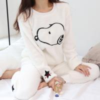 밀크스누피 잠옷