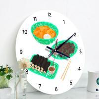 ia521-음식점시계(떡볶이순대김밥)