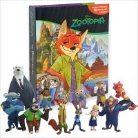 Disney Zootopia My Busy Book 주토피아 피규어북