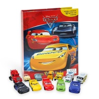 Cars 3 My Busy Book 피규어북