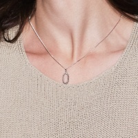 simple rope necklace-M