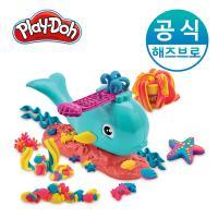 플레이도우 바다 고래 뿜뿜 + 칼라도우 20팩 플레이도