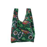 [바쿠백] 휴대용 장바구니 시장가방 Green Pheasant