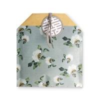[인디고샵] 전통민화 흰꽃 봉투 (10개)