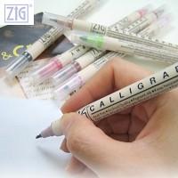 ZIG 지그 쿠레다케 캘리그라피펜/MS-3400/3600/7700/8400/6400/TC-3100 트윈마커 모음전