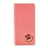 라인프렌즈 iPhone7 DIARY CHOCO Badge LIGHT CASE