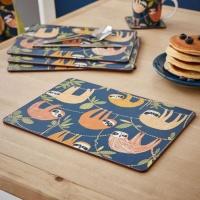 나무늘보 식탁매트(4P)