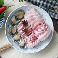 일본식기 아와이 블루탕기