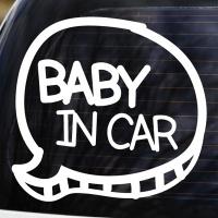 BABY IN CAR - 초보운전스티커(NEW084)