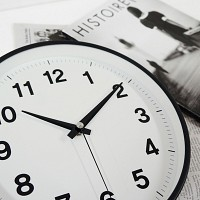 250심플벽시계